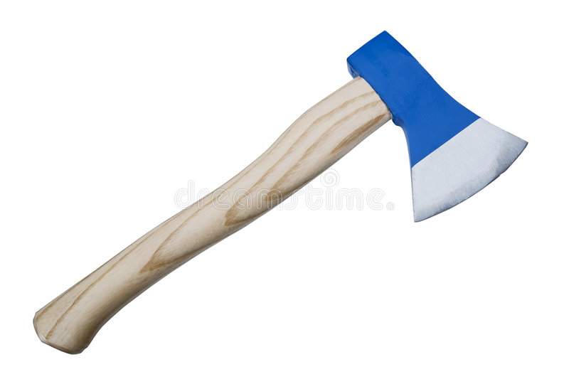 Download Axe stock photo. Image of blue, dangerous, tool, wood - 4765918