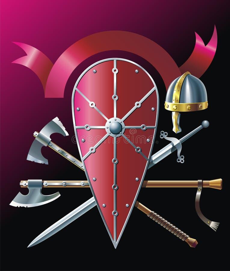 Axe royalty ilustracja