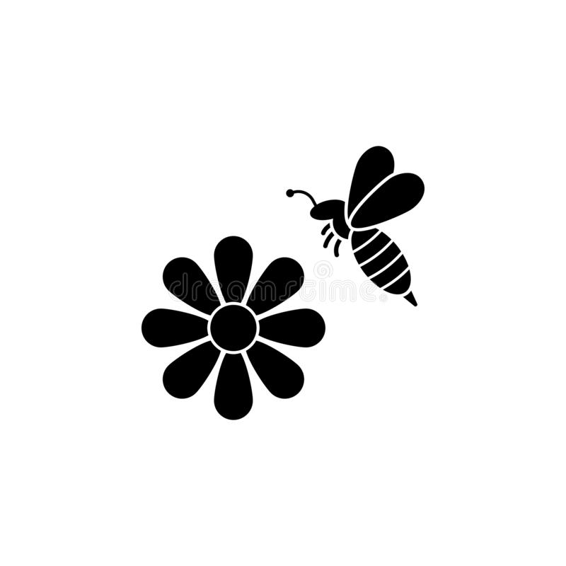 axe, miel, icône d'abeille Élément d'icône de l'apiculture Icône de la meilleure qualité de conception graphique de qualité Signe illustration de vecteur