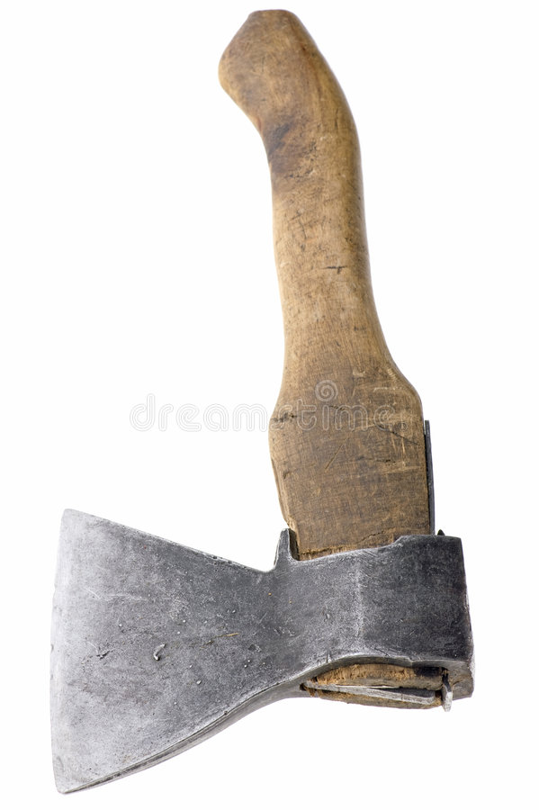 Download Axe on white stock image. Image of steel, tool, isolated - 9182823