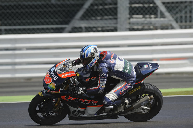 Download Axel pons, moto 2, 2012 editorial stock image. Image of sponsors - 25788039