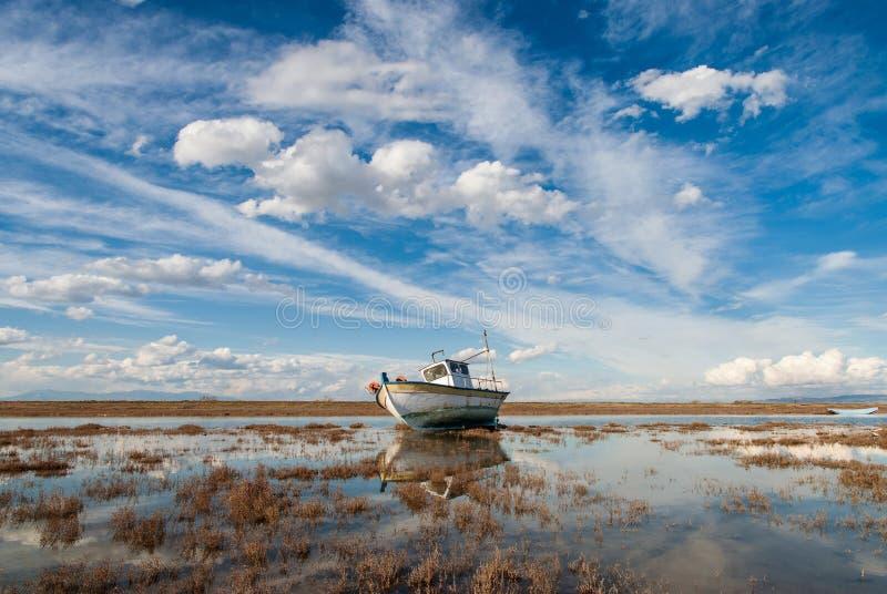 Axiosdelta in Griekenland stock foto's