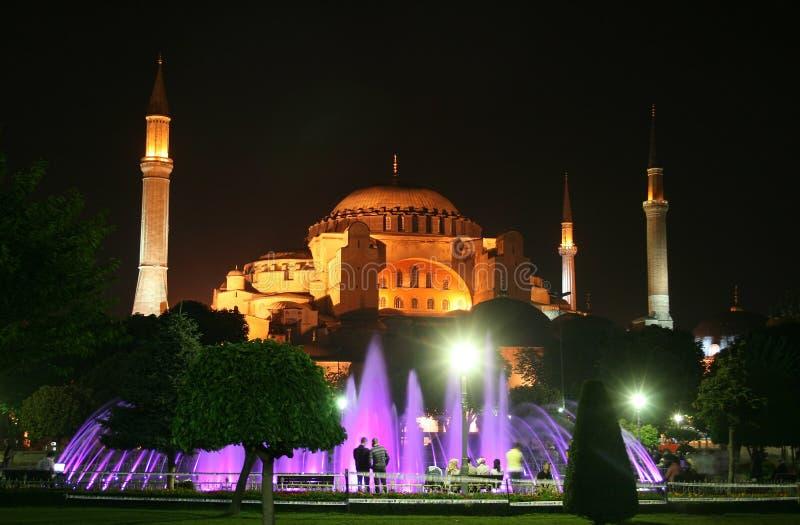 Aya Sofía (Hagia Sophia) fotos de archivo
