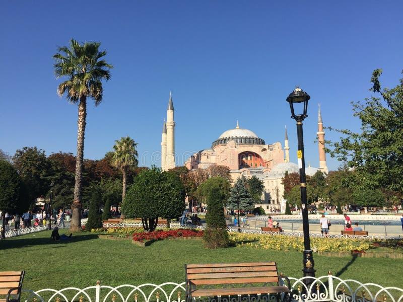Aya Sofia - Hagia Sofia arkivfoto