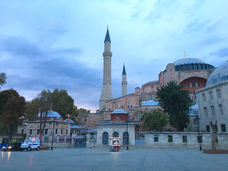 Aya Sofya & x28; Hagia Sofia& x29; royalty-vrije stock afbeeldingen