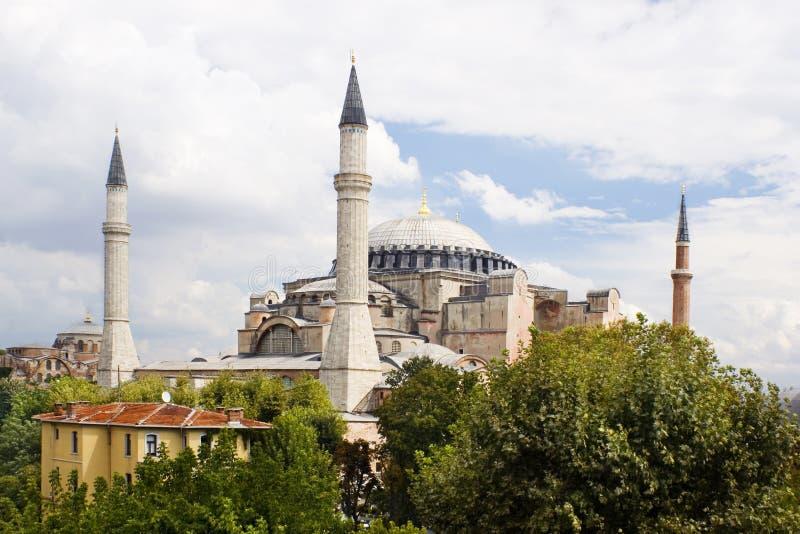Aya Sofya Istambul royalty free stock photos