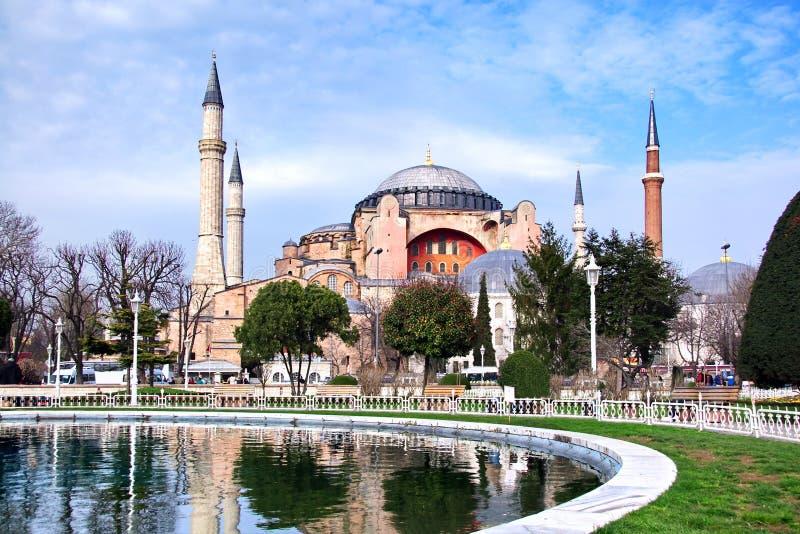 Aya Sofya Museum - Istanbul stockfoto