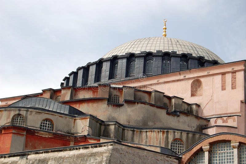 Aya Sophia Dome Stock Images