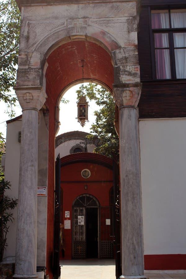 Aya Yorgi Church Background royalty free stock image