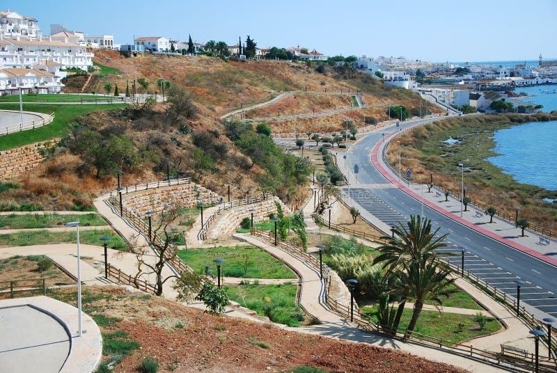 ayamonte νότια πόλη της Ισπανίας το στοκ φωτογραφία με δικαίωμα ελεύθερης χρήσης