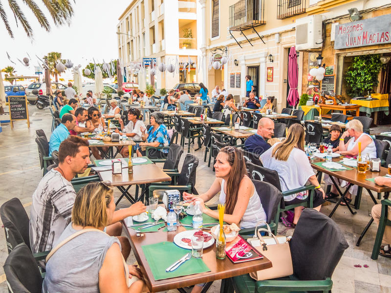 Ayamonte, Andalusien, Spanien lizenzfreies stockfoto