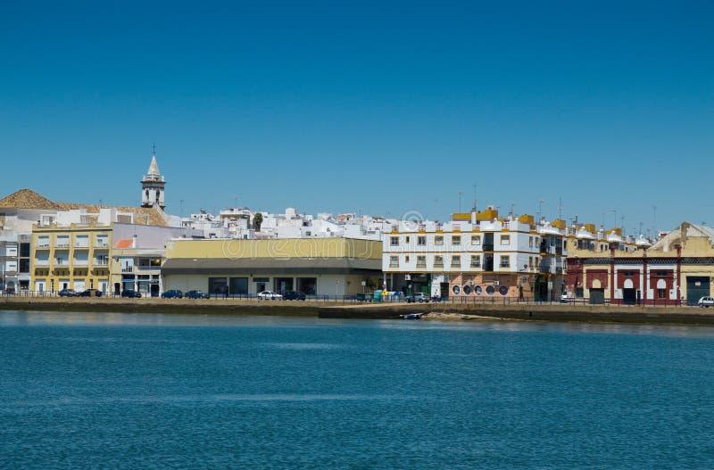 Ayamonte, Huelva spanje royalty-vrije stock fotografie