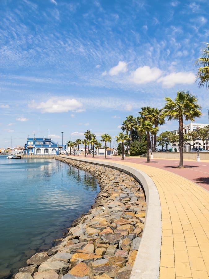 Ayamonte, Punta Del Morał, Hiszpania zdjęcie royalty free