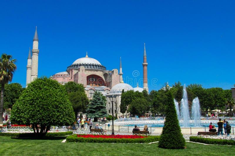 Ayasofya в Стамбуле, Турции стоковое изображение rf