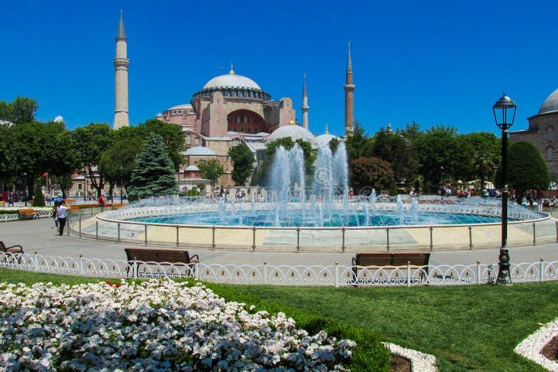 Ayasofya в Стамбуле, Турции стоковая фотография rf