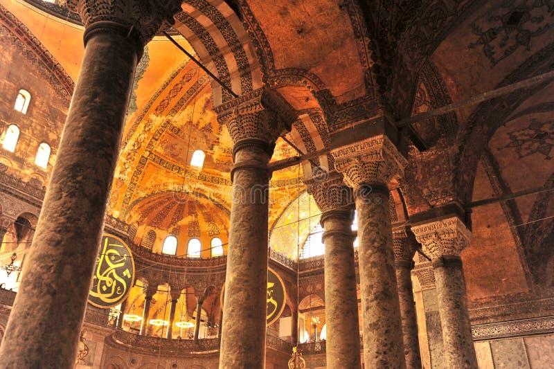 Ayasohya Meczet (Hagia Istanbuł Sophia,) obrazy royalty free