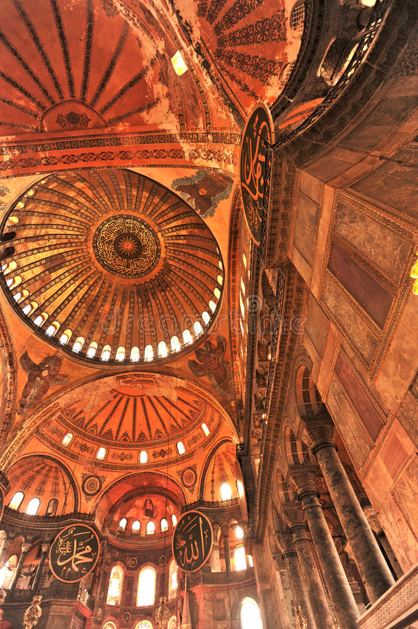 Ayasohya Moschee (Hagia Sophia, Istanbul) lizenzfreie stockbilder