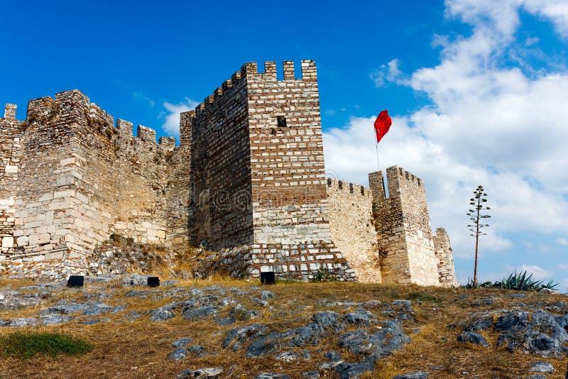 Ayasuluk slott i Selcuk i Turkiet arkivfoto