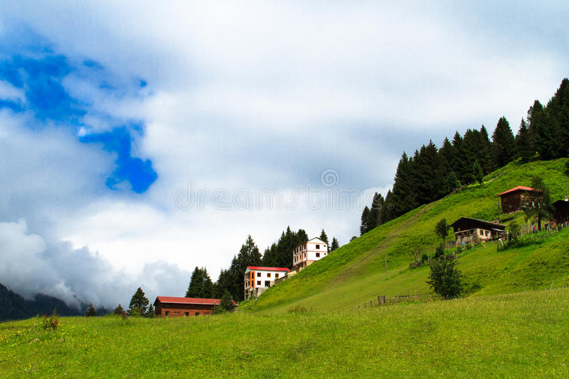Ayder Plateau royalty free stock image