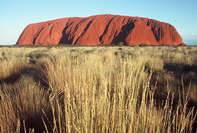 ayers rock obrazy royalty free