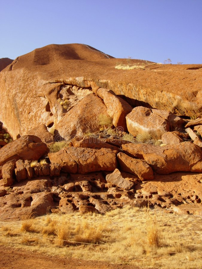 Ayers Rock (Uluru) stock images