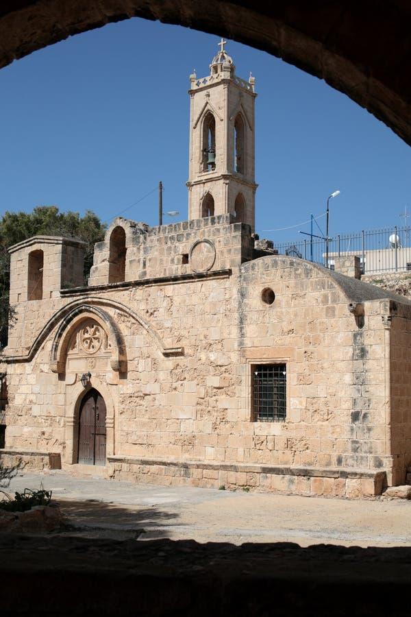 Ayia Napa monaster fotografia stock