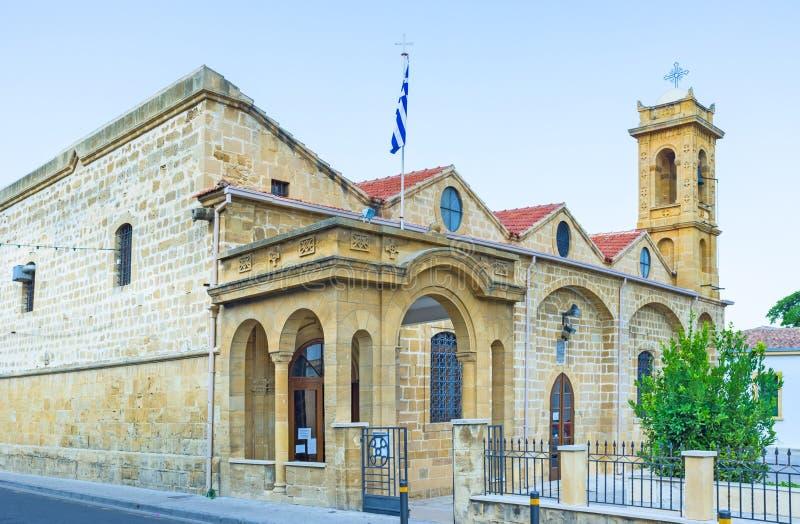 Ayios Savvas教会 库存照片