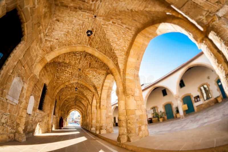 Ayious Lazarus Church, Larnaca, Cyprus royalty-vrije stock foto