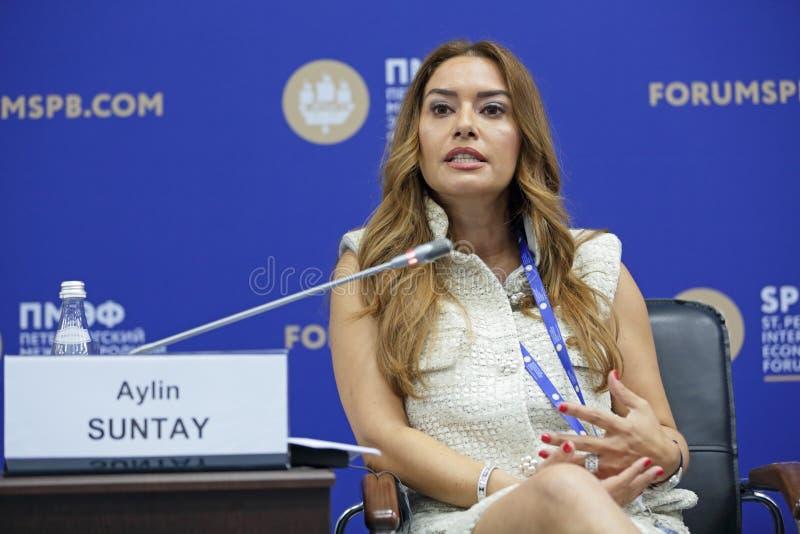Aylin Suntay imagens de stock royalty free