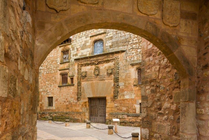 Ayllon Spanien royaltyfri fotografi