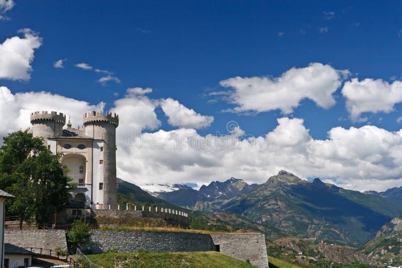 Aymavilles, Aosta valley, Italy royalty free stock photo