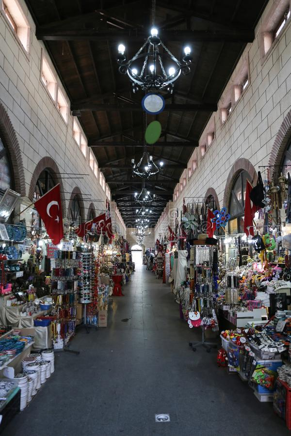 Aynali Carsi in Canakkale City royalty free stock photography