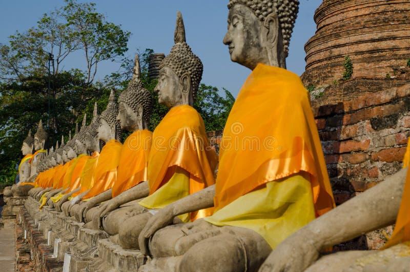 Ayotaya de Buda imágenes de archivo libres de regalías