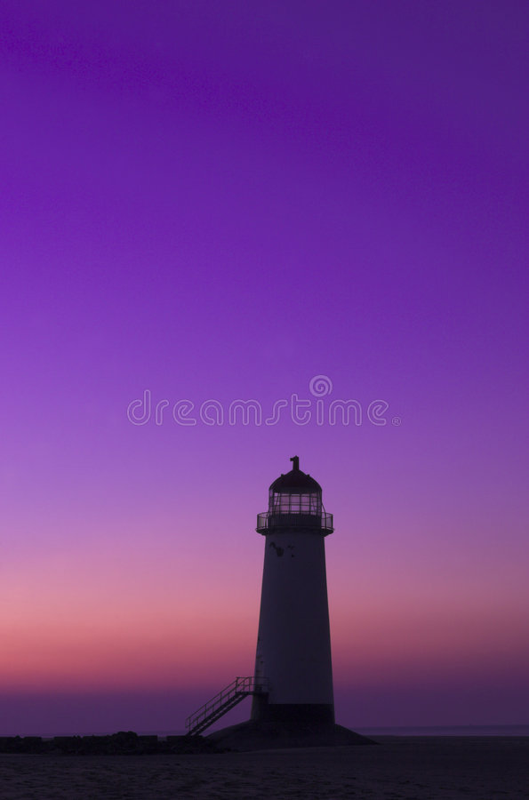 Download Ayr Lighthouse stock image. Image of sombre, lighthouse - 3511645
