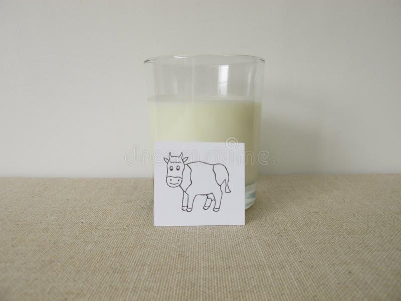 Ayran avec lait, yaourts, eau glacée et sel images stock