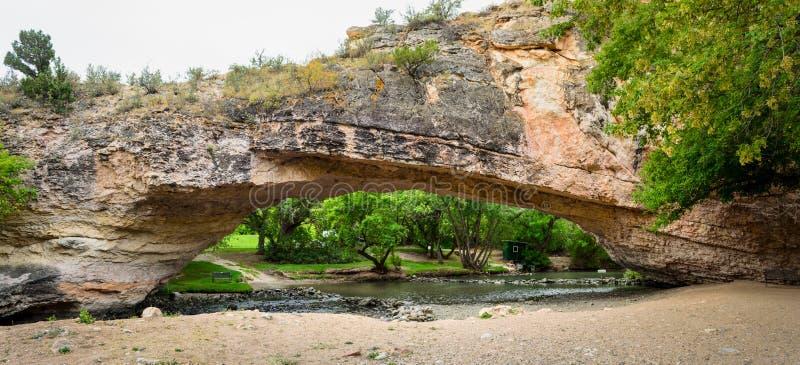 Ayres Natural Bridge Park foto de stock