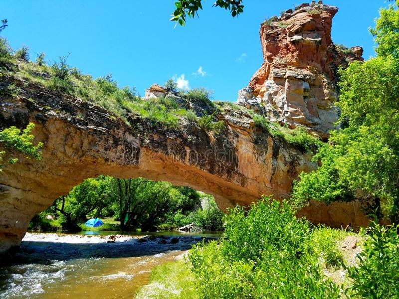 Ayres Natural Bridge Park royalty free stock photos
