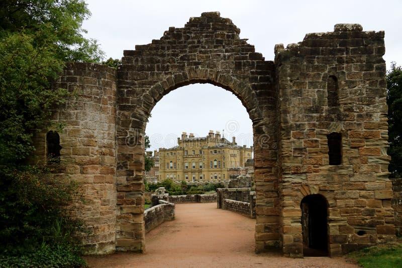 Ayrshire Ecosse de château de Culzean photographie stock libre de droits