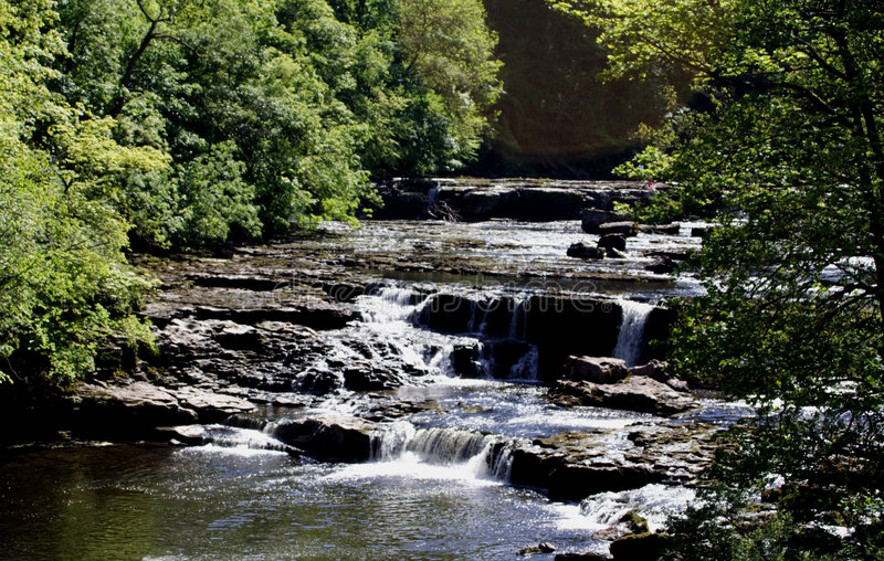 aysgarth falls obraz royalty free