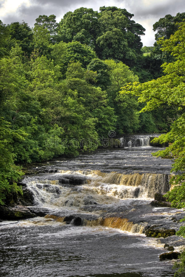 Aysgarth Falls stock photo