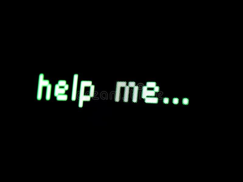 Ayudándome? imagen de archivo libre de regalías