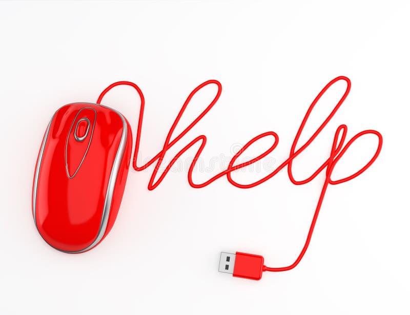 Ayuda del ordenador libre illustration