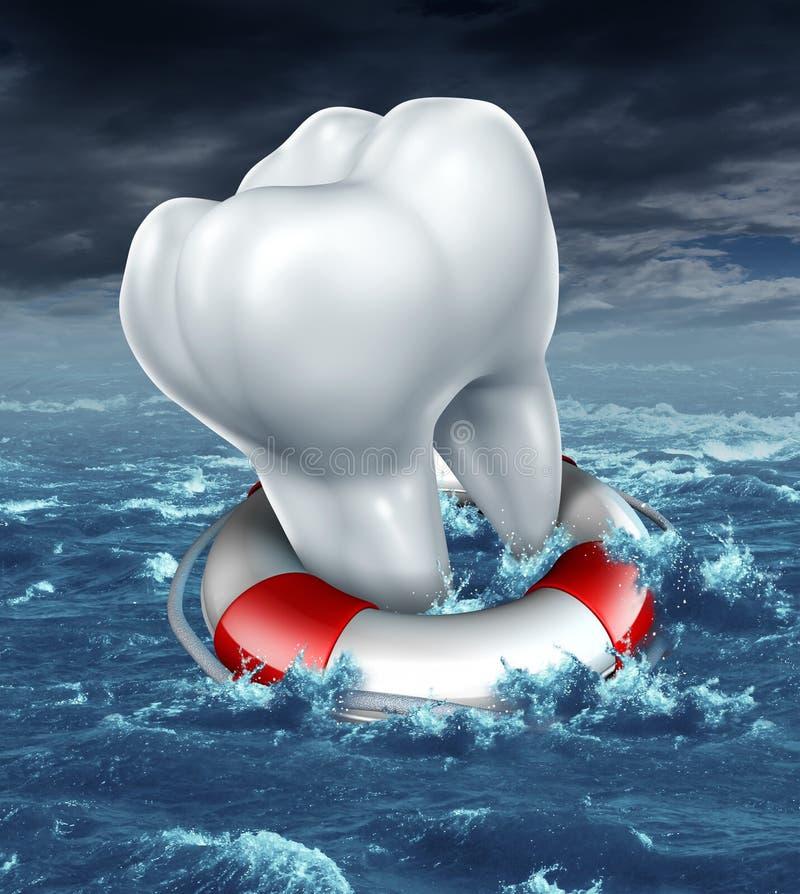 Ayuda dental ilustración del vector
