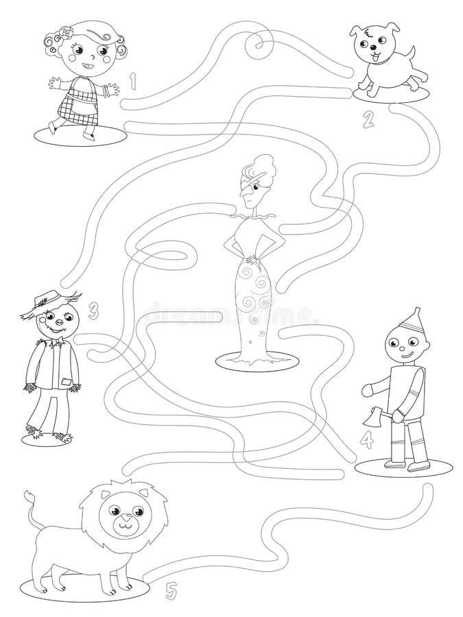 Moderno Wizard Of Oz Para Colorear Imprimible Molde - Dibujos Para ...