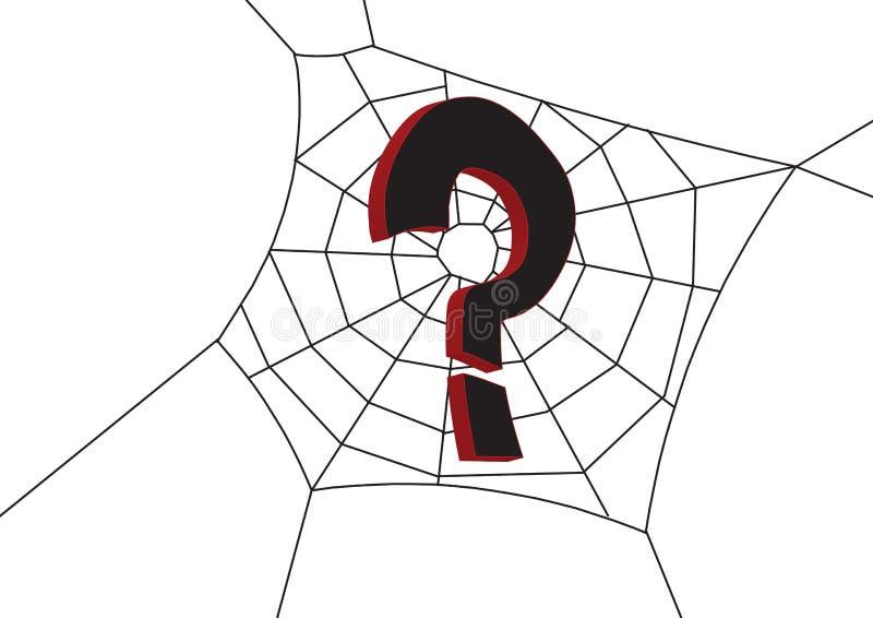 Ayuda en Web stock de ilustración