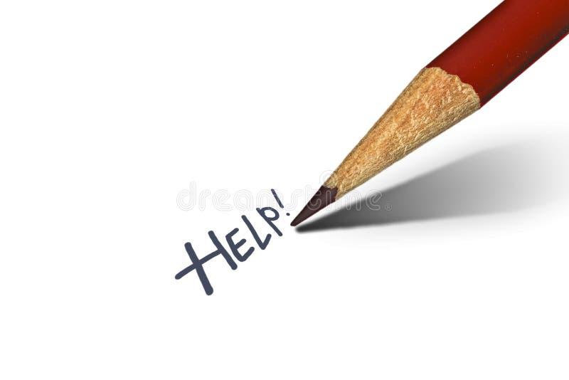 Ayuda por favor imagen de archivo libre de regalías