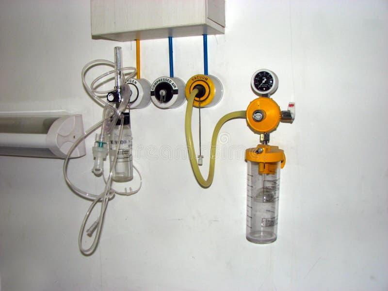 Ayuda respiratoria imagen de archivo libre de regalías