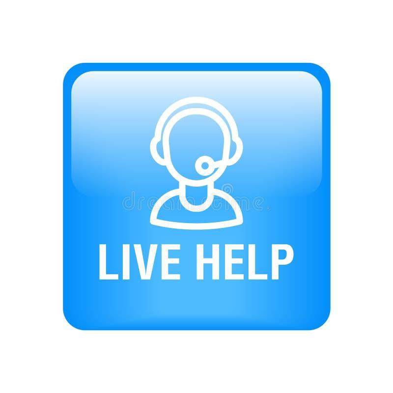 Ayuda viva de la ayuda libre illustration