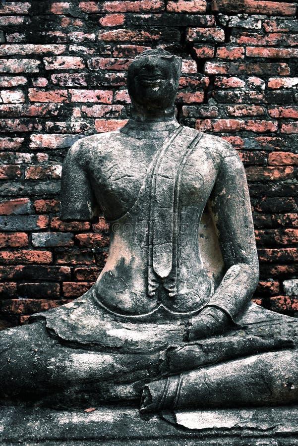 Ayuddhaya Boedha royalty-vrije stock afbeelding