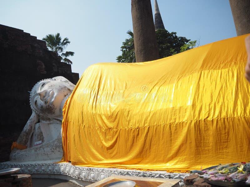 Ayuddhaya, de oude hoofdstad van Thailand stock afbeelding